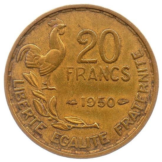 (FMO.20.1950.2.1.ttb_.000000001) 20 Francs Guiraud 1950 Reverse (zoom)