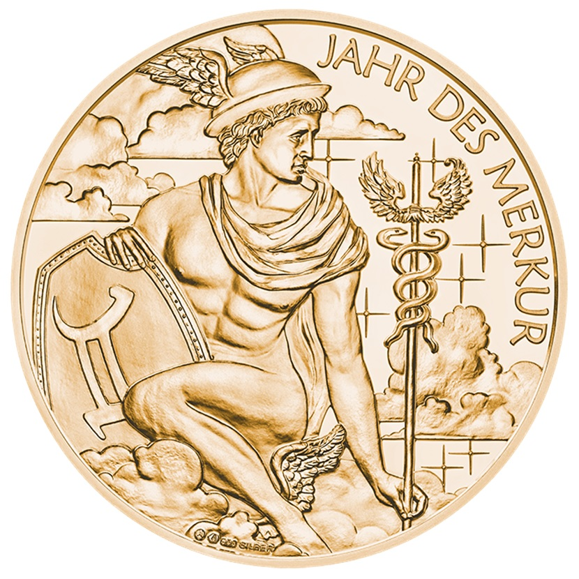 (MED01.Méd.MünzeÖ.2019.CuSn_.23745) Bronze medal Calendar 2019 Obverse (zoom)