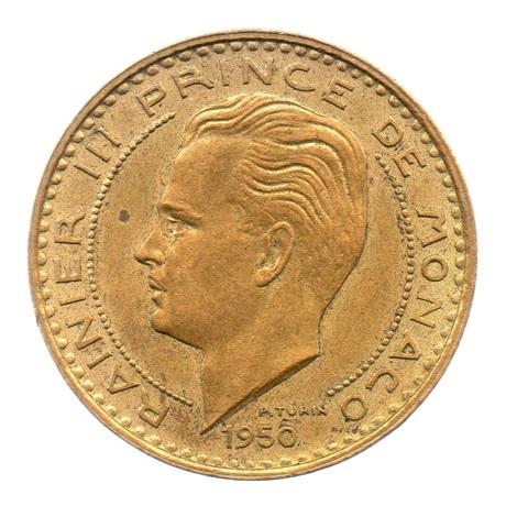 (W150.5000.1950.1.1.000000001) 50 Francs Prince Rainier III 1950 Avers