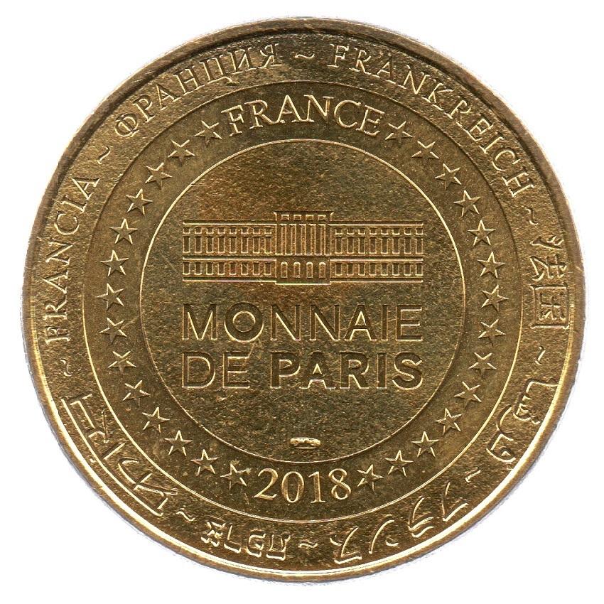 (FMED.Méd.tourist.2018.CuAlNi4.spl_.000000001) Tourism token - Train de la Rhune Reverse (zoom)