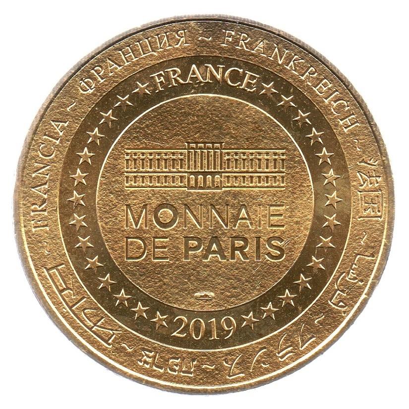 (FMED.Méd.tourist.2019.CuAlNi1.spl_.000000001) Tourism token - Clovis Reverse (zoom)