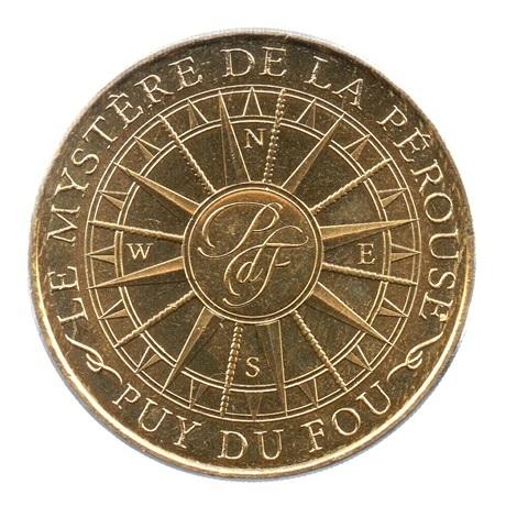 (FMED.Méd.tourist.2019.CuAlNi2.2.spl.000000001) Jeton touristique - Le mystère de La Pérouse Avers