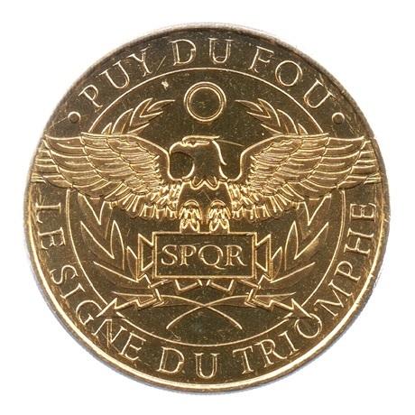 (FMED.Méd.tourist.2019.CuAlNi2.4.spl.000000001) Le Signe du Triomphe Avers