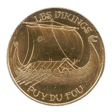 (FMED.Méd.tourist.2019.CuAlNi2.5.spl.000000001) Jeton touristique - Les Vikings Avers