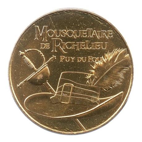 (FMED.Méd.tourist.2019.CuAlNi2.6.spl.000000001) Mousquetaire de Richelieu Avers