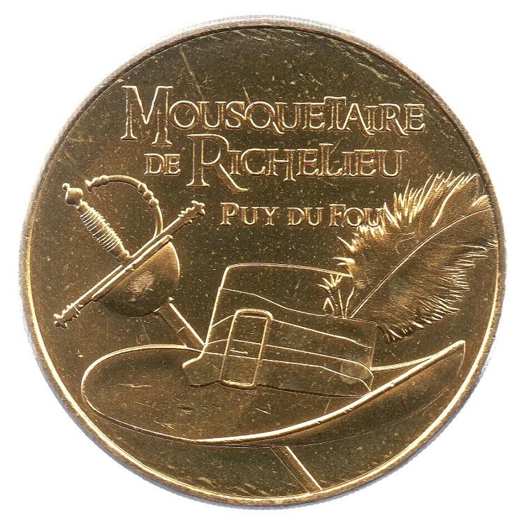 (FMED.Méd.tourist.2019.CuAlNi2.6.spl_.000000001) Mousquetaire de Richelieu Obverse (zoom)