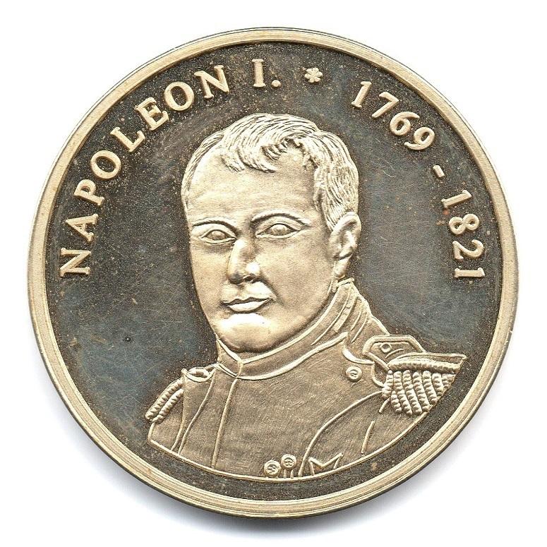 (FMED.n.d._1998_.CuNiZn1.sup.000000001) German silver medal - Napoléon I Obverse (zoom)