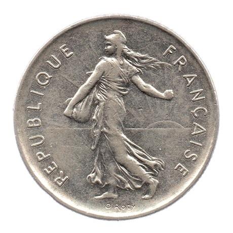 (FMO.5.1970.51.1.ttb.000000003) 5 Francs Semeuse 1970 Avers