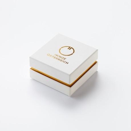 (MED01.Méd.couMünzeÖ.Ag.23261) Médaille de cou argent - Soleil (écrin)