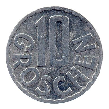 (W018.010.1975.1.spl.000000001) 10 Groschen Aigle 1975 Revers