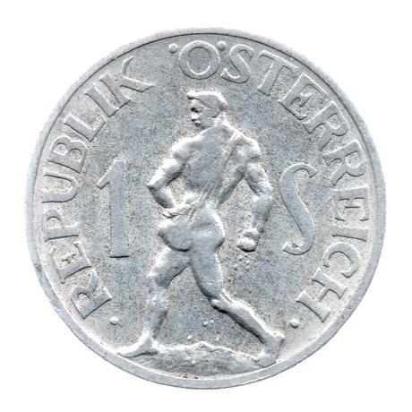 (W018.100.1946.1.ttb.000000001) 1 Schilling Semeur 1946 Revers