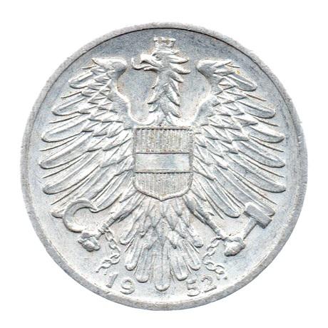 (W018.100.1952.1.sup.000000001) 1 Schilling Semeur 1952 Avers