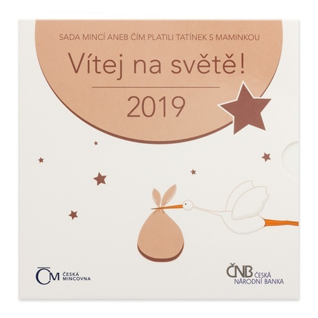 Coffret République Tchèque 2019 - Naissance