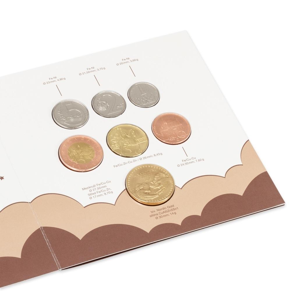 Coin set Czech Republic 2019 - Birth (Reverses) (zoom)