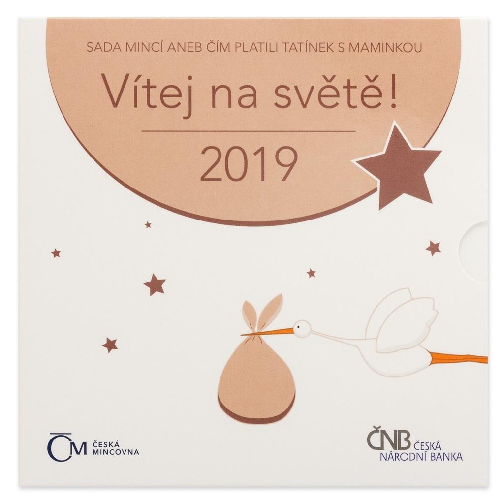 Coin set Czech Republic 2019 - Birth (zoom)
