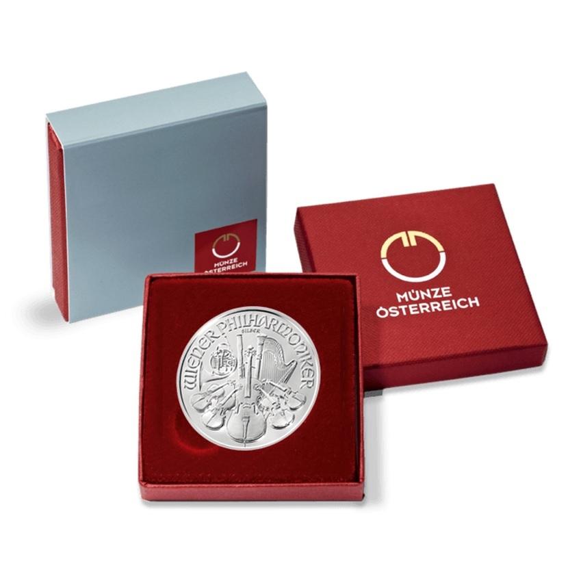 (EUR01.150.2019.1.ag_.bullco.18945) 1.50 euro Austria 2019 1 ounce fine silver - Philharmonic (case) (zoom)