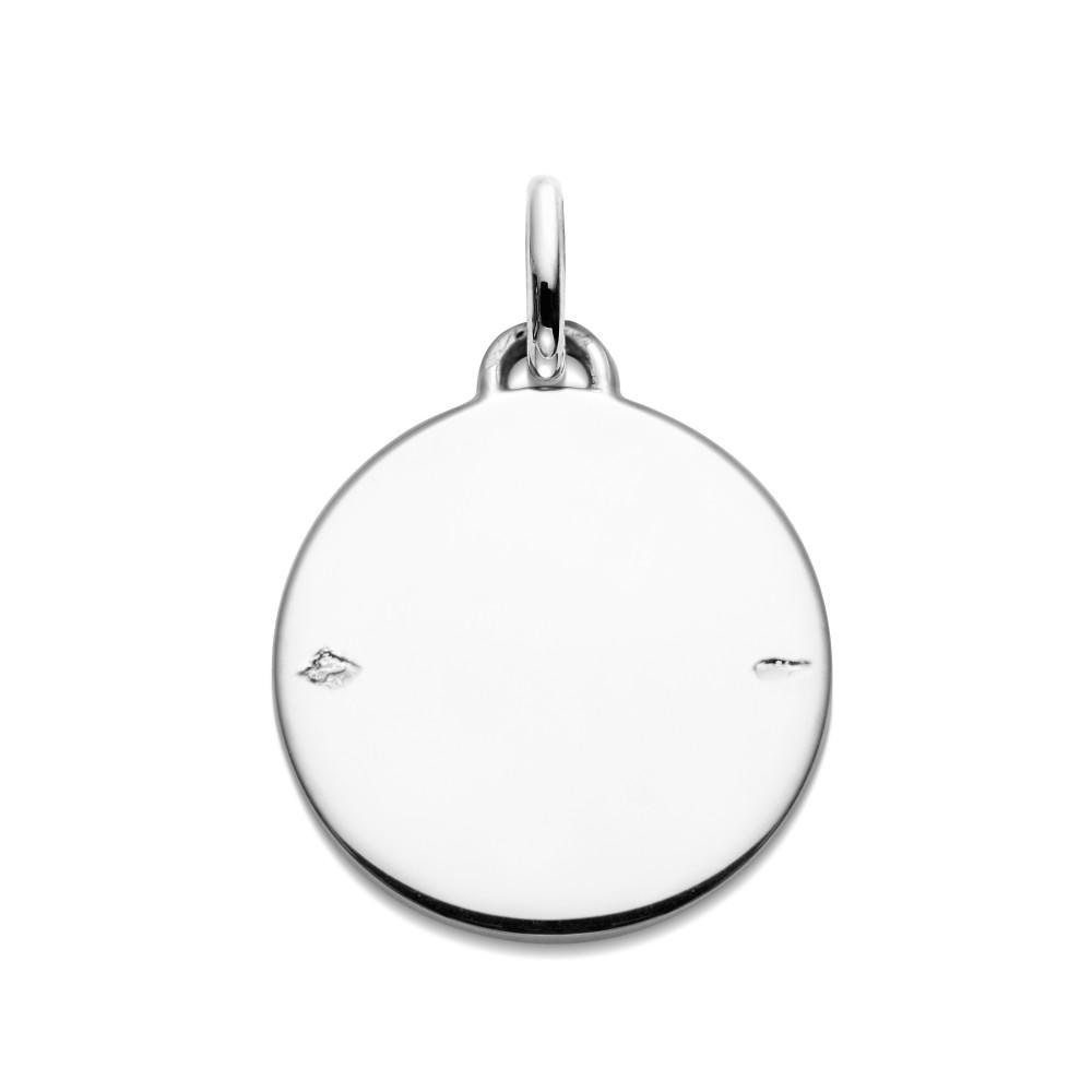 (FMED.Méd.couMdP.Ag_.10011335200P00) Silver pendant medal - First steps on the moon Reverse (zoom)