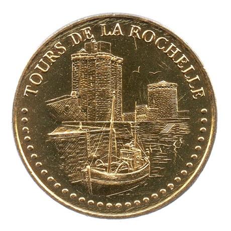 (FMED.Méd.tourist.2018.CuAlNi3.2.spl.000000001) Jeton touristique - Tours de La Rochelle Avers