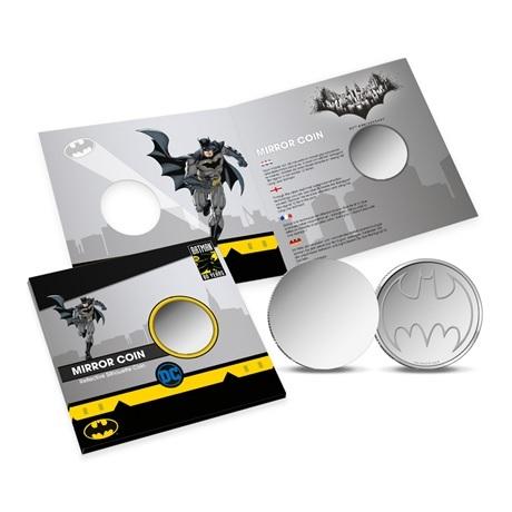 (MED14.Méd.KNM.2019.FeC1) Médaille miroir - Batman (avec packaging)