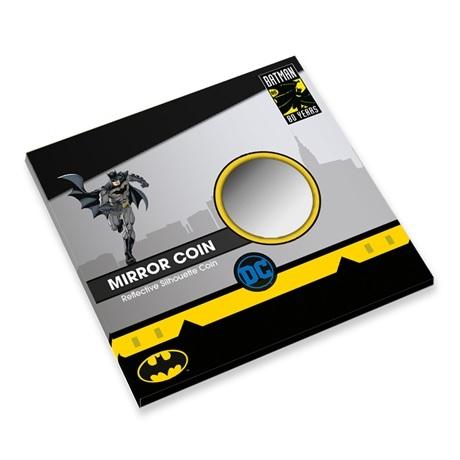 (MED14.Méd.KNM.2019.FeC1) Médaille miroir - Batman (packaging fermé)