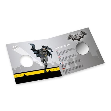 (MED14.Méd.KNM.2019.FeC1) Médaille miroir - Batman (packaging ouvert)