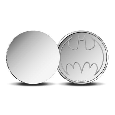 (MED14.Méd.KNM.2019.FeC1) Médaille miroir - Batman