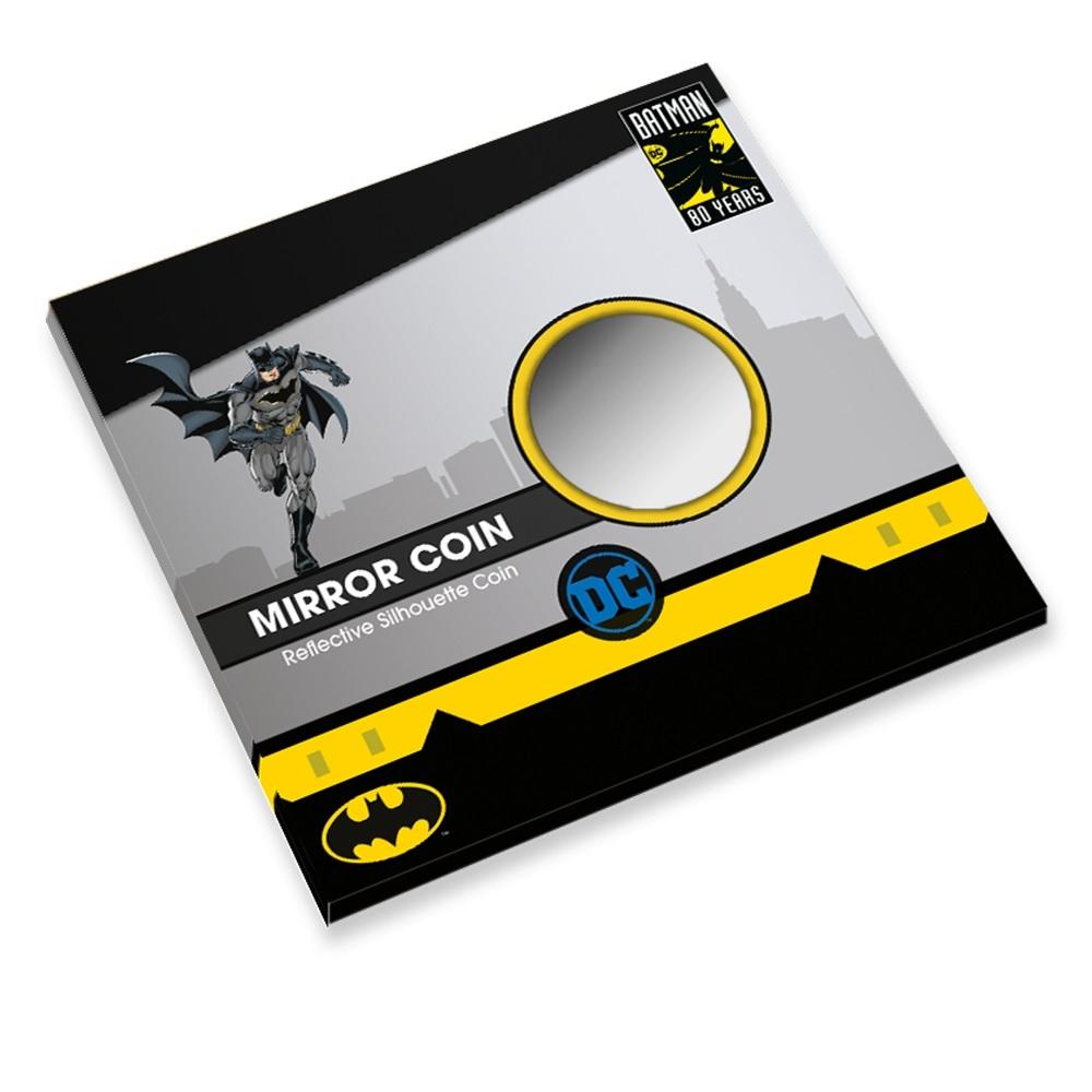 (MED14.Méd.KNM_.2019.FeC1) Mirror coin - Batman (closed packaging) (zoom)