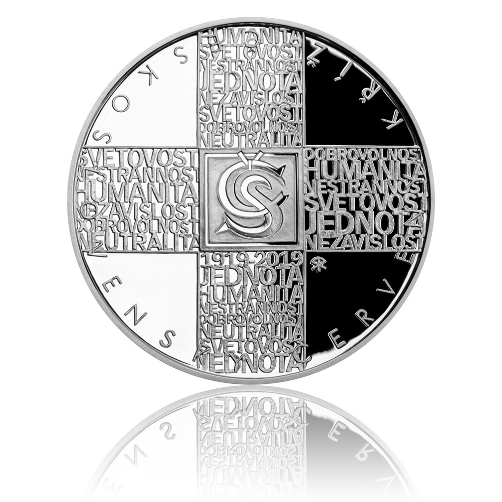 200 Korun 100th anniversary of the Czechoslovak Red Cross 2019 - Proof silver Reverse (zoom)