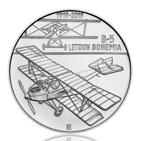 200 Korun Bohemia B-5 2019 - Argent Revers
