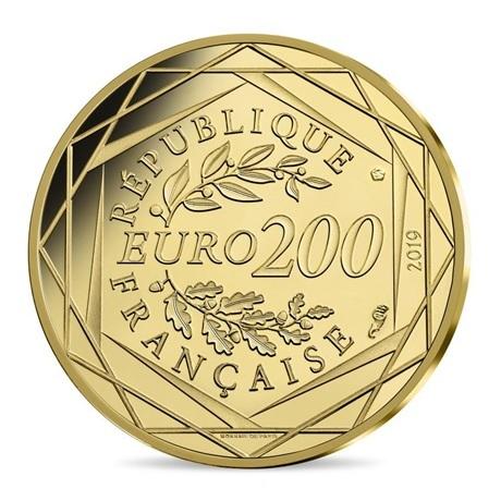 200 euro France 2019 or BU - Mathieu Revers