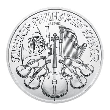 (EUR01.150.2019.1.ag.bullco.24361) 1,50 euro Autriche 2019 1 once argent - Philharmonique Revers