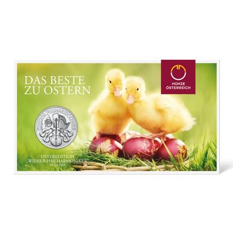 (EUR01.150.2019.1.ag.bullco.24361) 1,50 euro Autriche 2019 1 once argent - Philharmonique (blister)