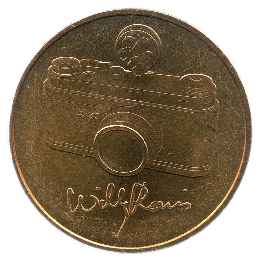 (FMED.Méd.even_.2010.CuAlNi1.sup_.000000001) Event token - Willy Ronis Obverse (zoom)