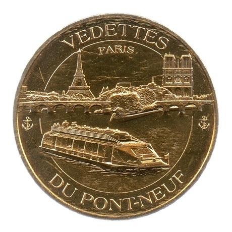(FMED.Méd.tourist.2018.CuAlNi5.spl.000000001) Jeton touristique - Vedettes du Pont-Neuf Avers