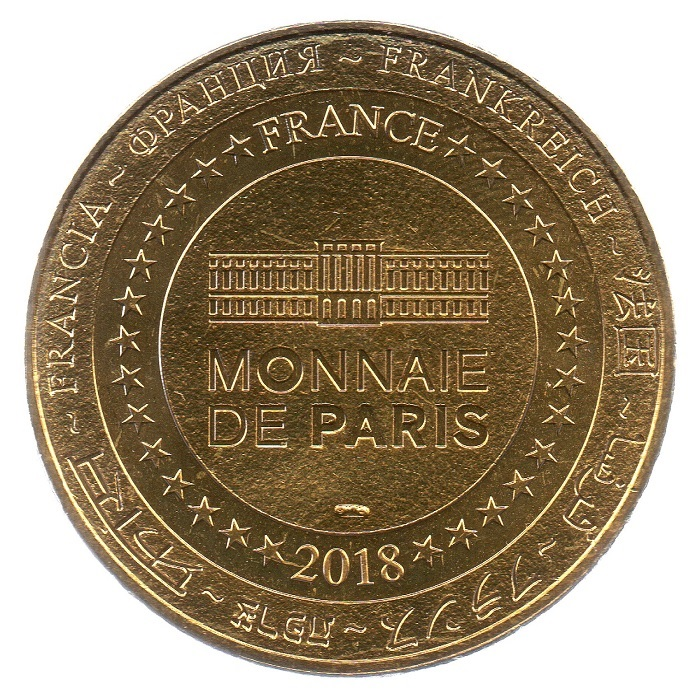 (FMED.Méd.tourist.2018.CuAlNi5.spl_.000000001) Tourism token - Cruises on the Seine Reverse (zoom)