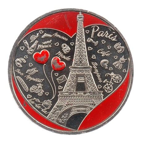 (FMED.Méd.tourist.CuNi1.sup.000000002) Jeton touristique - Ville de Paris Avers
