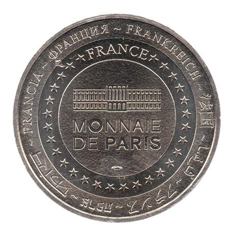 (FMED.Méd.tourist.CuNi1.sup.000000002) Jeton touristique - Ville de Paris Revers