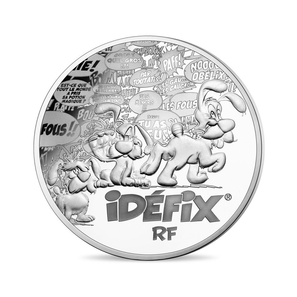 10 euro France 2019 Proof silver - Asterix Obverse (zoom)