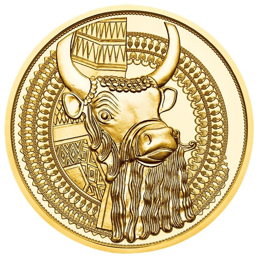 100 euro Austria 2019 Proof gold - The gold of Mesopotamia Reverse (zoom)