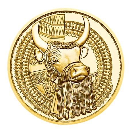 100 euro Autriche 2019 or BE - Or de Mésopotamie Revers