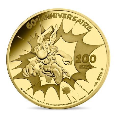 100 euro France 2019 or BE - Astérix Revers