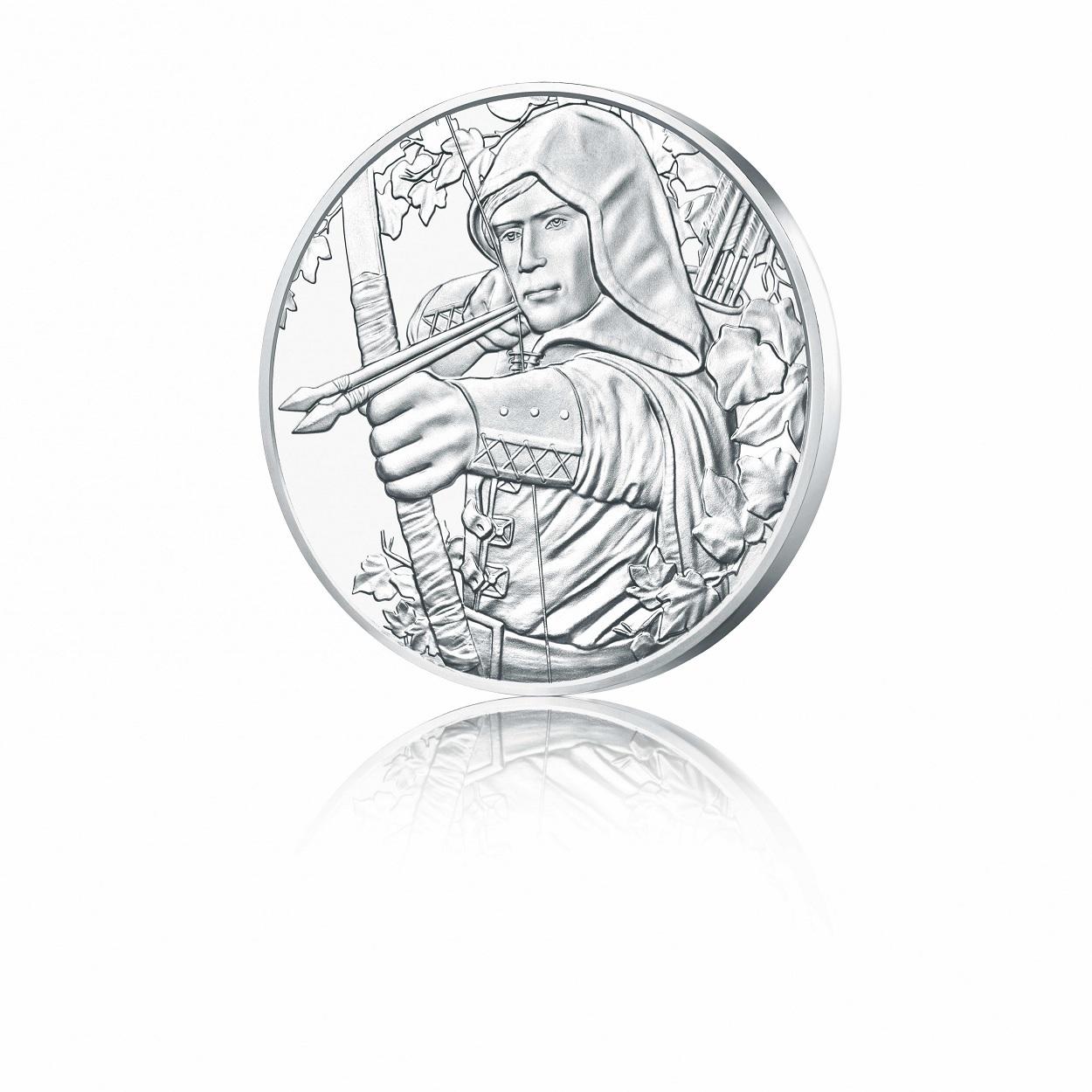1,50 euro Austria 2019 1 ounce silver - Robin Hood Reverse (zoom)