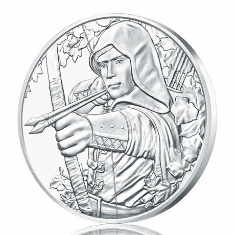 1,50 euro Autriche 2019 1 once argent - Robin des Bois Revers