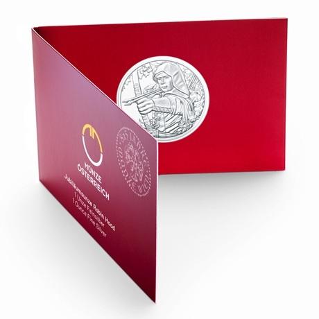 1,50 euro Autriche 2019 1 once argent - Robin des Bois (blister)