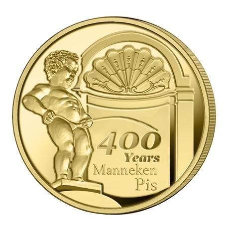 2,5 euro Belgique 2019 BU - Manneken Pis Revers