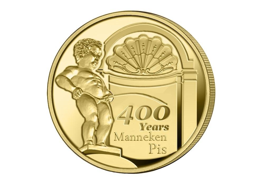 2,50 euro Belgium 2019 BU - Manneken Pis Reverse (zoom)