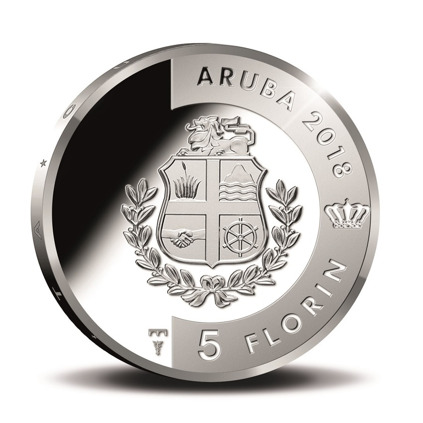 5 Florin Soldachi 2018 - Proof silver Obverse (zoom)