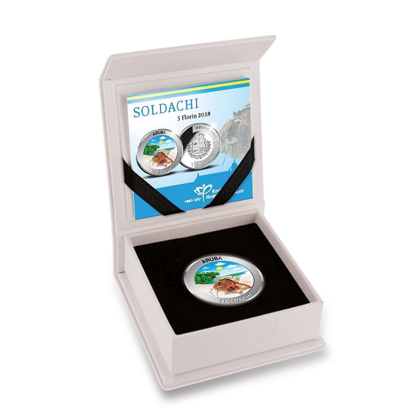 5 Florin Soldachi 2018 - Proof silver (case) (zoom)