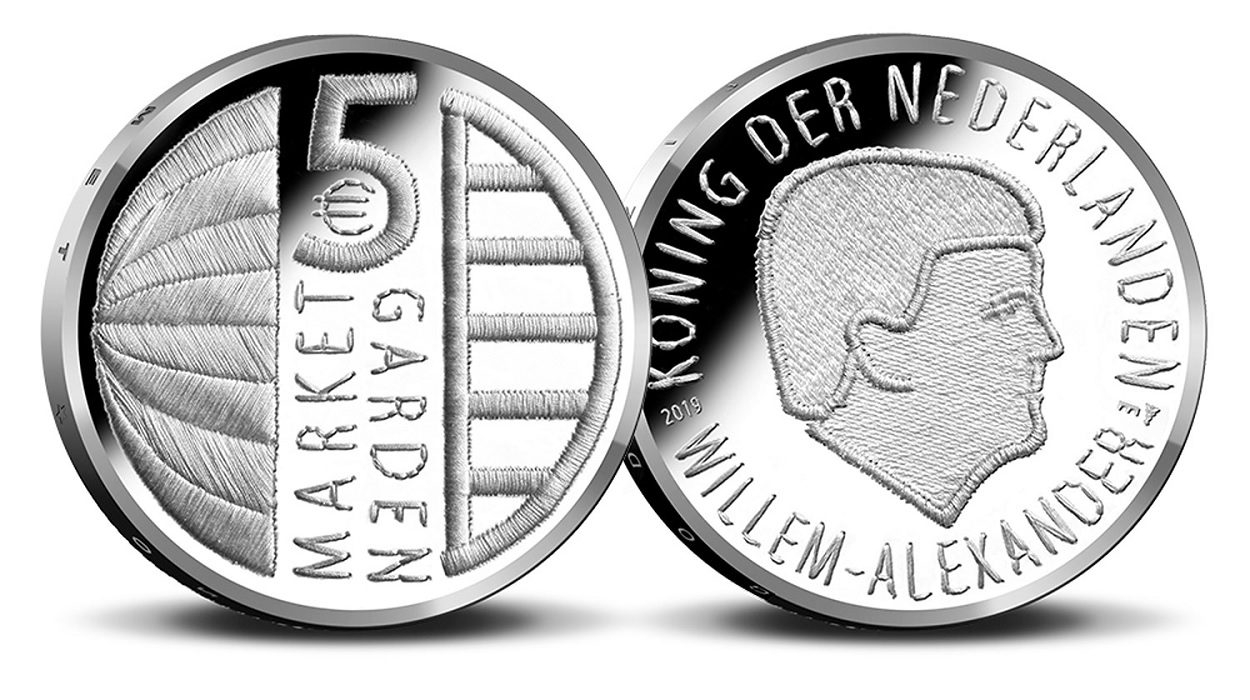 5 euro Netherlands 2019 Brilliant Uncirculated - Operation Market Garden (zoom)