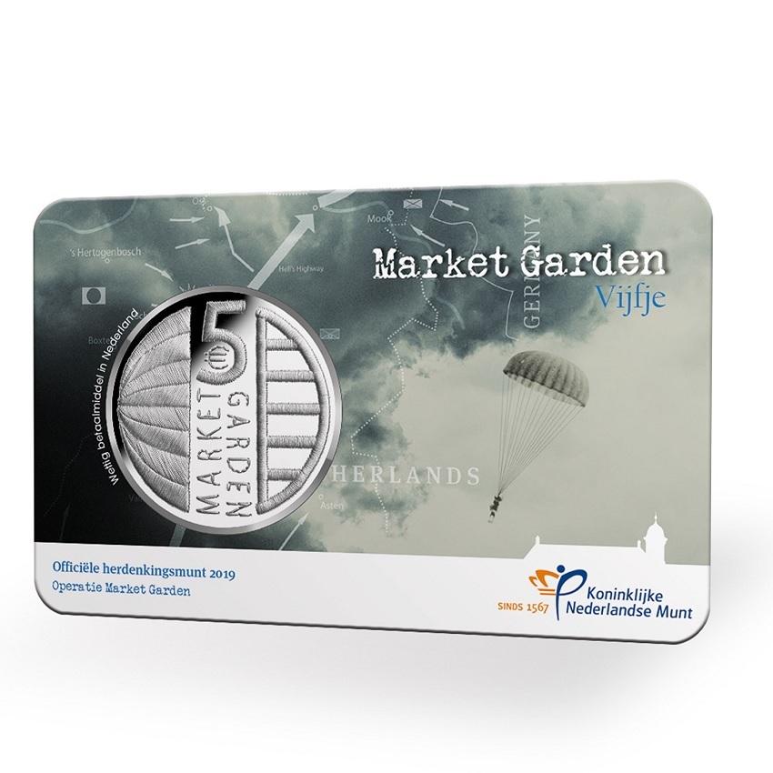 5 euro Netherlands 2019 Uncirculated - Operation Market Garden Reverse (zoom)